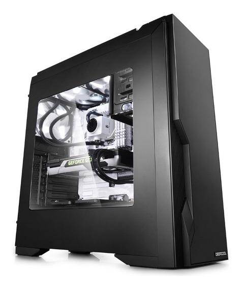 Gabinete Gamer Deepcool Dukase V3 Ventana 2 Coolers