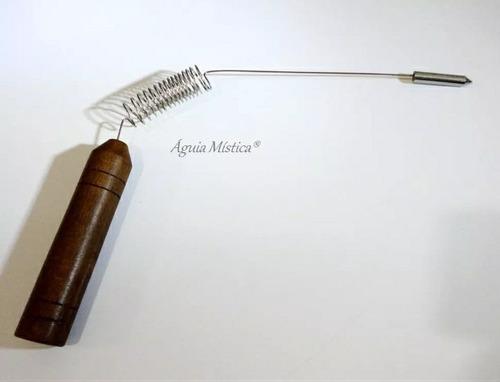 Aurameter /aurímetro /madeira Medição Aura Prof. Radiestesia
