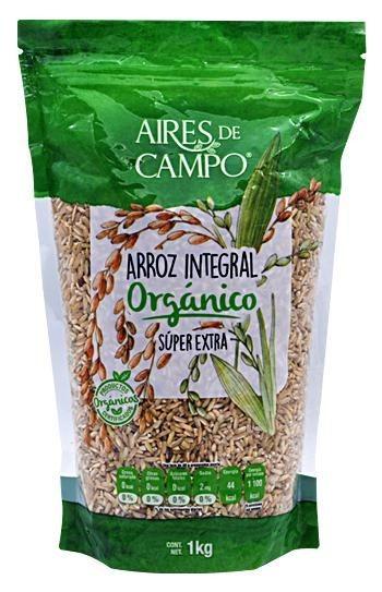 Arroz Integral Organico 1 Kg