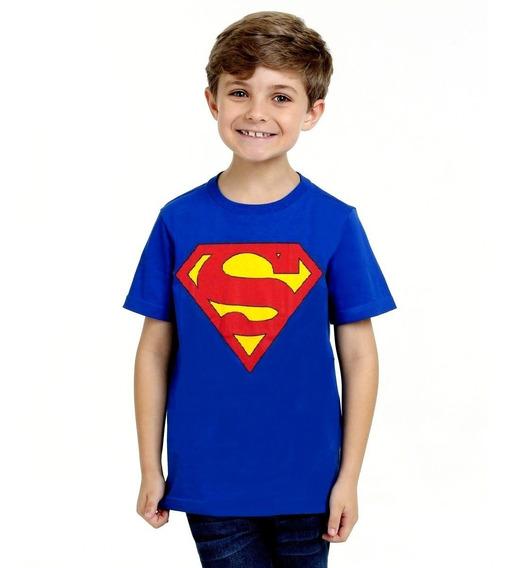 Kit 15 Camisetas Infantil Super Heróis Personagens Games