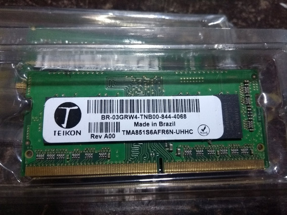 Memoria Teikon 4g Ddr4 2400 Not Br-03grw4 Tma851s6afr6n-uhhc