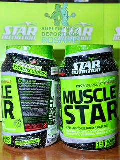 Ganador De Masa Muscular Muscle Star Star Nutrition