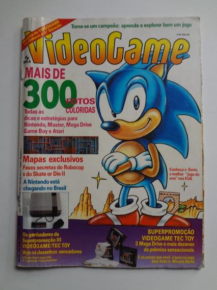 Revista Videogame Nº 5 Sonic