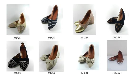 Kit 3 Pares Promoção Sapatilha Sapatos Femininos Barato