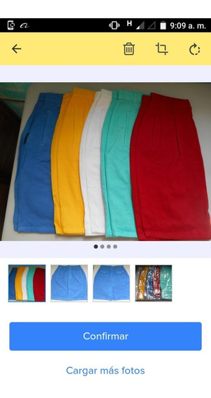 Lote De 10 Faldas Cortas, Cinco Colores, Tallas 5 A La 13.