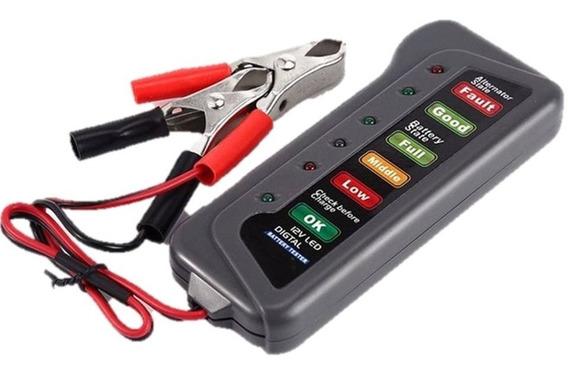Teste De Bateria E Alternador 12v Carro Moto Fácil Portátil