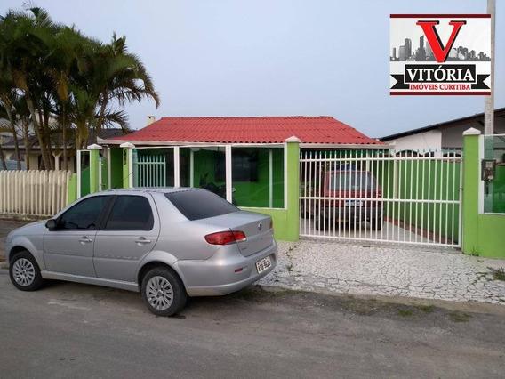 Casa No Bom Retiro Em Matinhos, A Uns 500 Metros Da Praia Uma 6 Dormitórios Sendo 1 Suíte, 2 Salas, Cozinha, 3 Banheiros, Lavanderia - Ca0733
