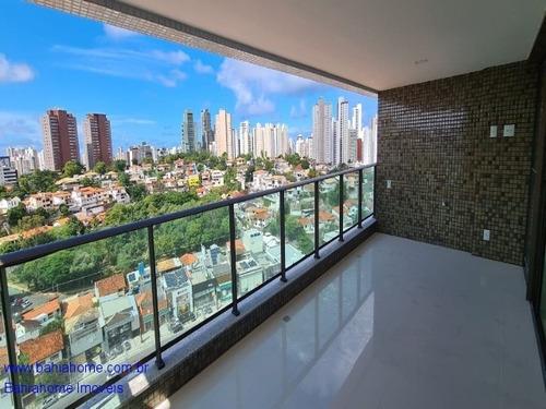 Imagem 1 de 13 de Apartamento 125m² Caminho Das Arvores Com 3 Quartos, Três Suítes E Dependência Completa - Nascente - Ap1120a