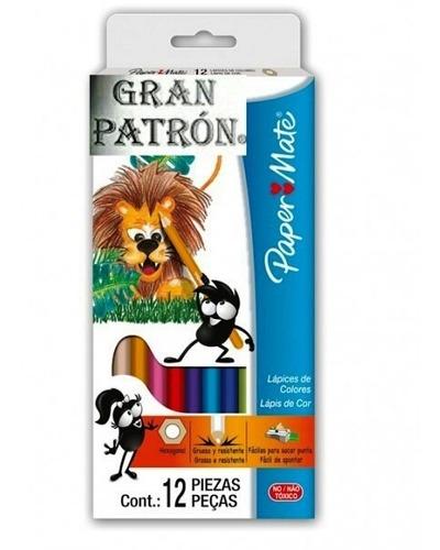 Caja De Colores Paper Mate De 12 Unidades Precio X 3 Cajitas