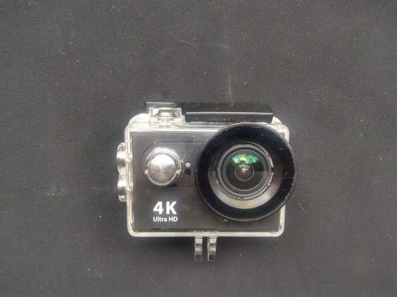 Câmera Go Pro 4k - Eken - Usada - Suportes