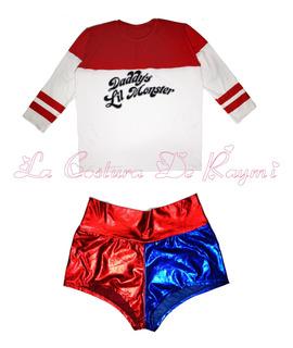 Disfraz Harley Quinn Adultos, La Costura De Raymi.