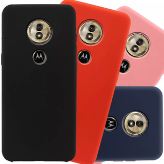 Funda Para Motorola Moto E5 G7 Plus Play Go + Vidrio Templado Selecciona Tu Modelo
