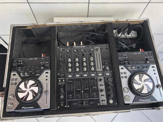 Cdj Pioneer 400 Mixer Djm 700