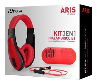 Kit 3 En 1 - Inalámbrico Bluetooth - Parlante/headset/auris
