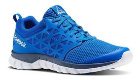 Tenis Reebok Sublite Xt Cushion 2.0 Azul Bs8707 Look Trendy