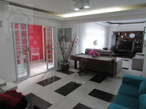 Sobrado Com 3 Dormitórios À Venda, 290 M² Por R$ 650.000,00 - Jardim Patente Novo - São Paulo/sp - So0005