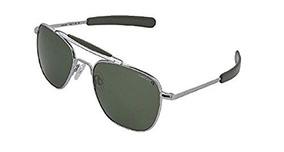 bb6b9d7ba4 Randolph Gafas De Sol Polarizadas Aviator Bright Chrome.