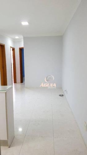 Imagem 1 de 27 de Apartamento Com 2 Dormitórios À Venda, 50 M² Por R$ 265.990,00 - Vila Pires - Santo André/sp - Ap2425