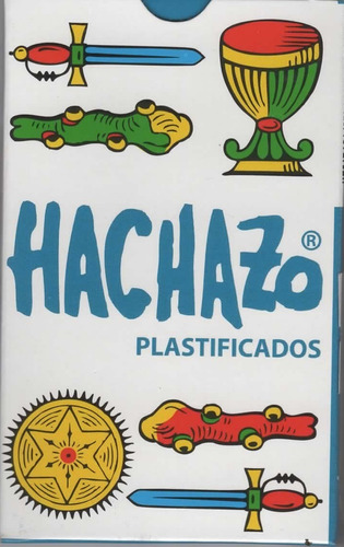 Imagen 1 de 2 de Naipe Hachazo Españolas 50 Naipes Plastificados