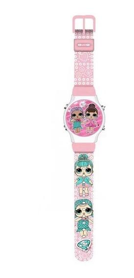 Reloj Lol Surprise Para Niña Con Luz