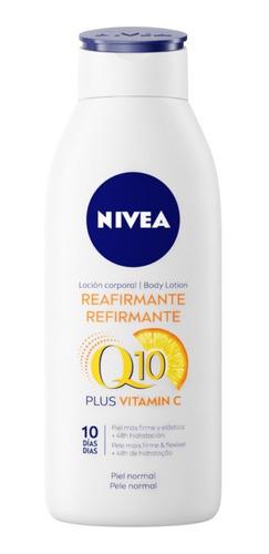 Imagen 1 de 3 de Crema Nivea Reafirmante Q10 Plus 400 Ml