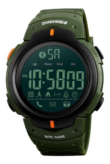 Smartwatch Skmei 1301 Bluetooth Lcd Acuático Notificaciones