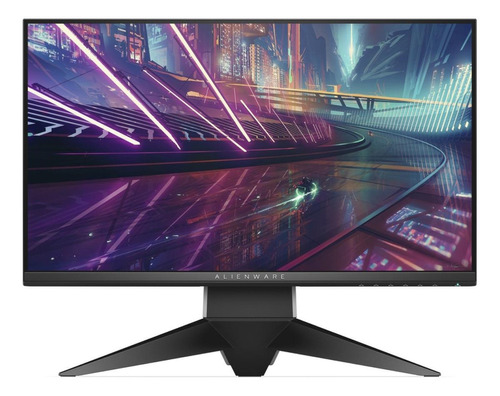 """Monitor Dell Alienware AW2518H LCD 25"""" preto e prateado 120V/230V"""