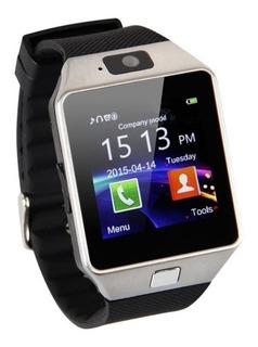 Relogio Smartwatch Android Com Micro Sim Dz09