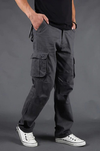 Pack X 2 Pantalones Cargo Gabardina Pre Lavada Hard Work Mercado Libre