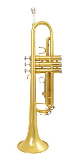 Amw Custom Trompete Laqueado Sib Si Bemol Premium + Estojo