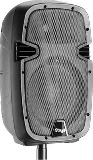Bafle Potenciado Stagg Caja Sonido Activa 170w 10 Bt Reverb