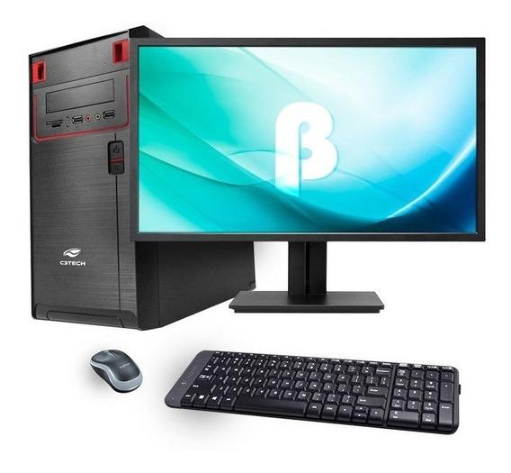 Kit 8 Computadores Completo Core 2 Duo 4gb E 8 Monitores