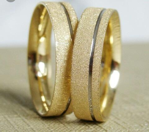 Alianças Em Ouro 18k Noivas