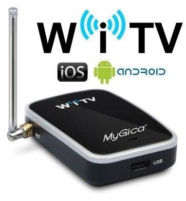 Receptor Tv Digital Hd Smartphone Tablet Apple Android Witv