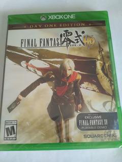 Final Fantasy Type-0 Xbox One Nuevo Sellado Envio Gratis