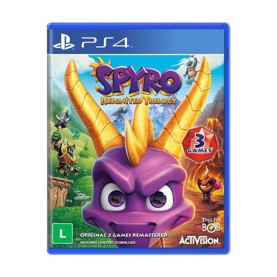 Spyro Reignited Trilogy Ps4 Midia Fisica