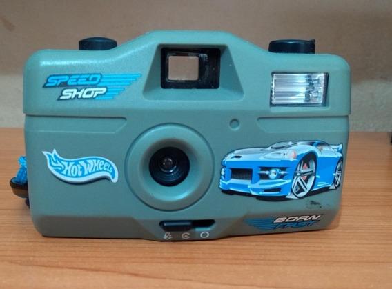 Máquina Fotográfica Hot Wheels - Colecionador