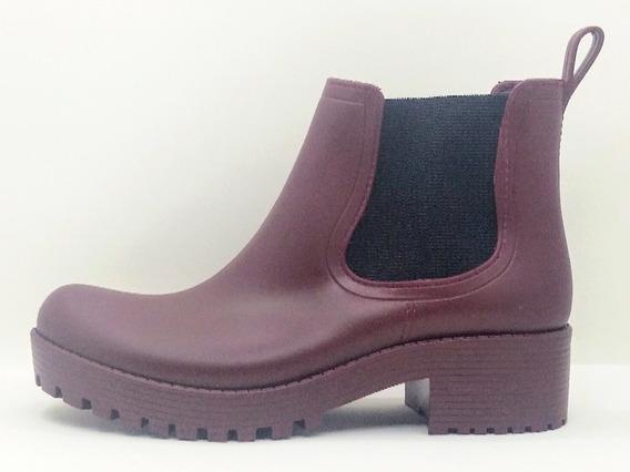Bota De Lluvia, Tk Shoes, Dama, Otoño Invierno, Tuson