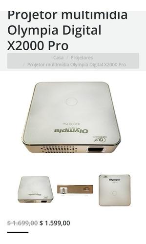 Imagem 1 de 3 de Mini Projector Olympia Digital 2000x Pro