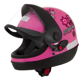 Capacete Pro Tork Automático Feminino Sport Moto For Girls