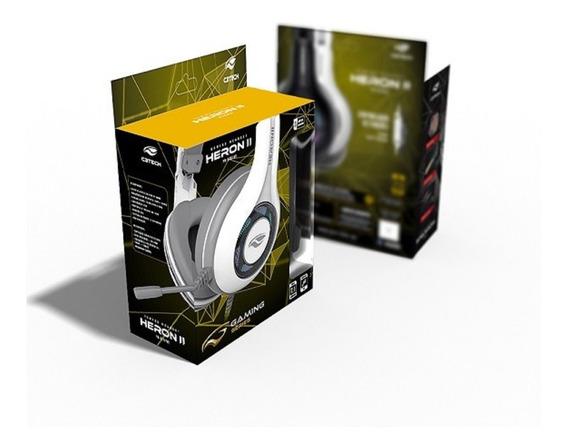Fone Headset Ouvido Gamer 7.1 Usb Heron 2 Ph-g701 C3tech