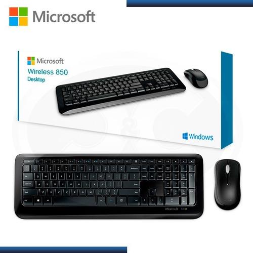 Microsoft 850 Teclado Y Mouse Inalambrico  Ingles Py9-00001