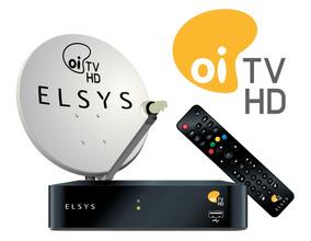 Kit Oi Tv Livre Digital Hd Lnb Duplo Completo Pra Instalação