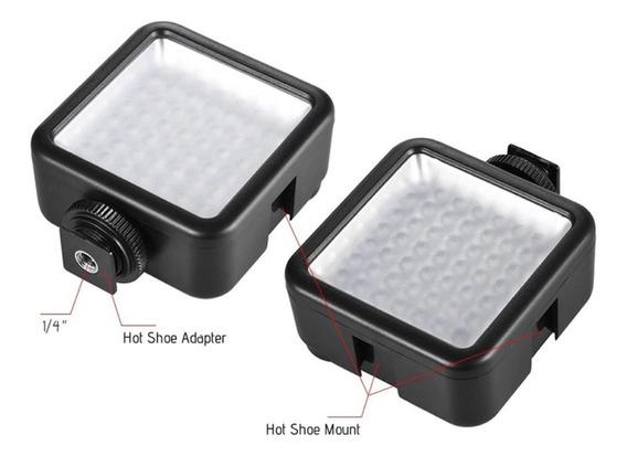 Iluminador Led 49 Com Dimmer Ajustáve P/ Nikon Canon Osmo