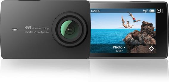 Camera Xiaomi Yi 2 4k 12mp+gimble+mochila+bateria Extra