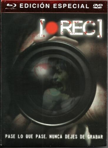 Rec Edición Especial | Blu Ray + Dvd  Película Nuevo