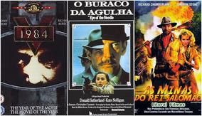 3 Filmes 1984 + O Buraco Da Agulha + As Minas Do Rei Salomão