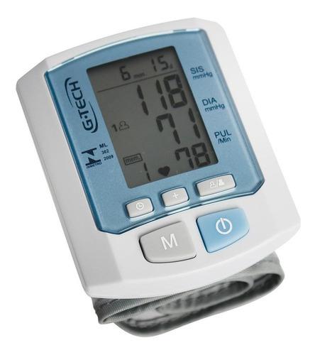 Medidor de pressão arterial digital de pulsoG-Tech RW450