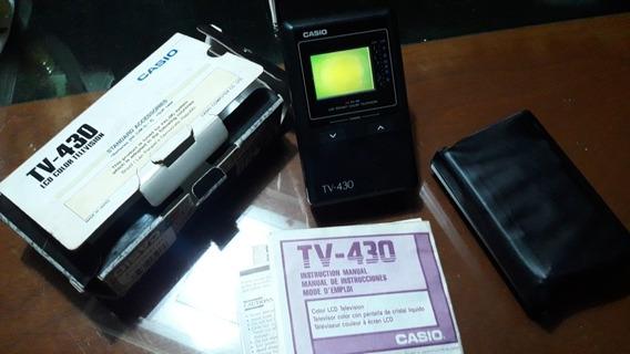 Tv Casio - 430 - Excelente - Funcionando