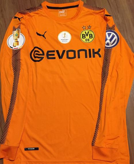 Camisa Borussia Dortmund Copa Da Alemanha 2017 Burki #38